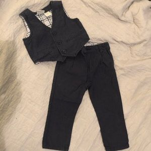 Toddler pants and vest